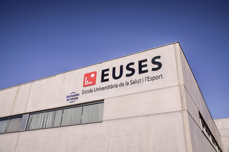 Euses Salt, Escola Universitària de la Salut i l'Esport prop de Girona